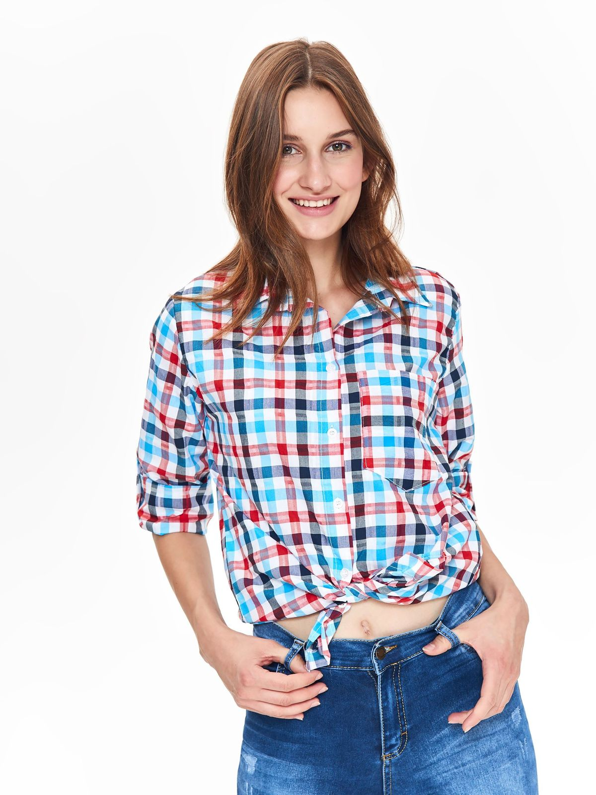 TROLL TROLL καρο πουκαμισο 650897aaa94