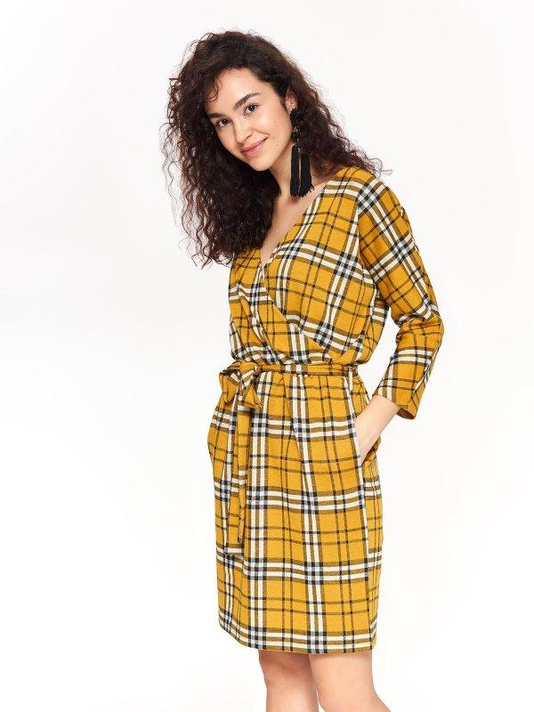 TOP SECRET top secret καρο casual φορεμα ca9e8867d78