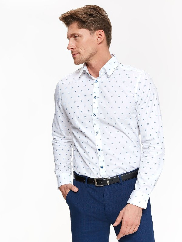 top secret πουα πουκαμισο slim fit - 260077