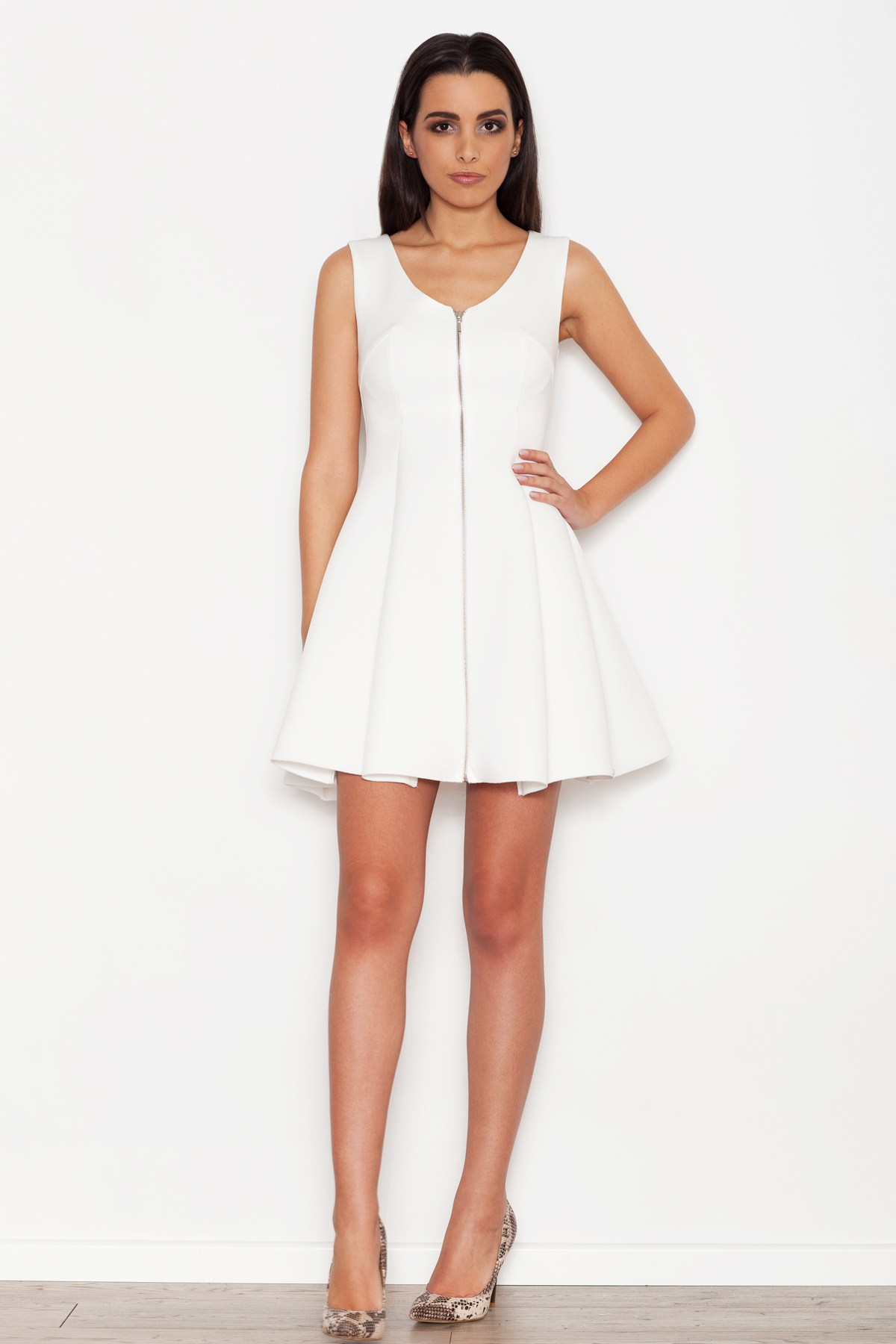 Cocktail θηλυκό φόρεμα με δαντέλα