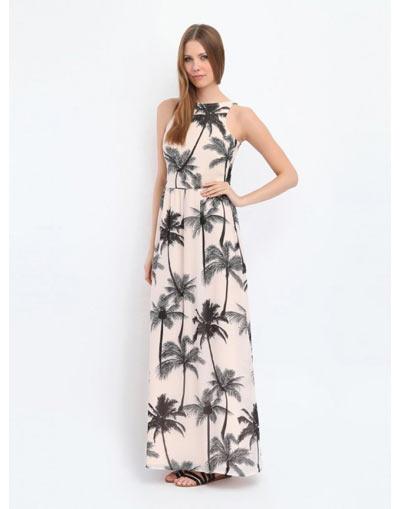 Maxi φορεμα με print