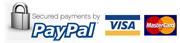 Επιλέγοντας πληρωμή μέσω Paypal θα μεταφερθείτε στην ιστοσελίδα του Paypal (online ασφαλές σύστημα συναλλαγών) όπου μπορείτε να πληρώσετε είτε με την πιστωτική/χρεωστική σας κάρτα είτε μέσω του Paypal λογαριασμού σας.